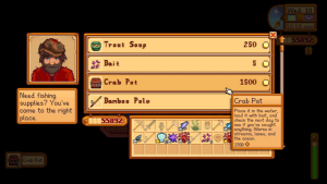 where to buy crab pots stardew