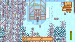 stardew valley greenhouse layout